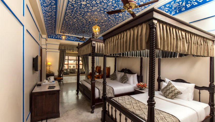 Great The Royal Suite Makes A Good Accommodation For A Family With Premium  Features, Handcrafted Furniture And Beautifully Painted Ceilings.