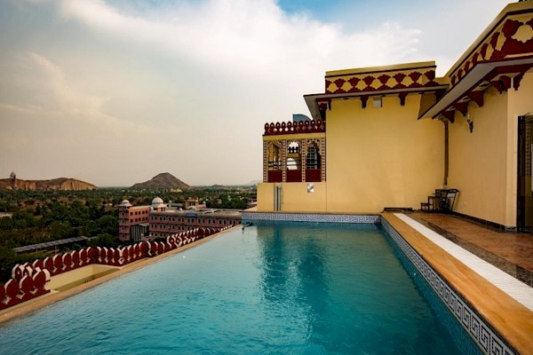 Swimming Pool In Jaipur Resort Swimming Pool